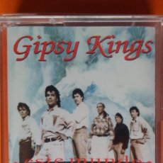Cassetes antigas: GIPSY KINGS ESTE MUNDO P.E.M./COLUMBIA 1991 CARATULA DESPLEGABLE PRECINTADA!!. Lote 229669285