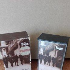 Casetes antiguos: THE BEATLES LIVE AT THE BBC DOBLE CASSETTE 1994 VER FOTOS ESTADO. Lote 171026132