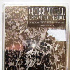 Casetes antiguos: GEORGE MICHAEL.LISTEN WITHOUT PREJUDICE..PRECINTADA..PEDIDO MINIMO 5€. Lote 171113424