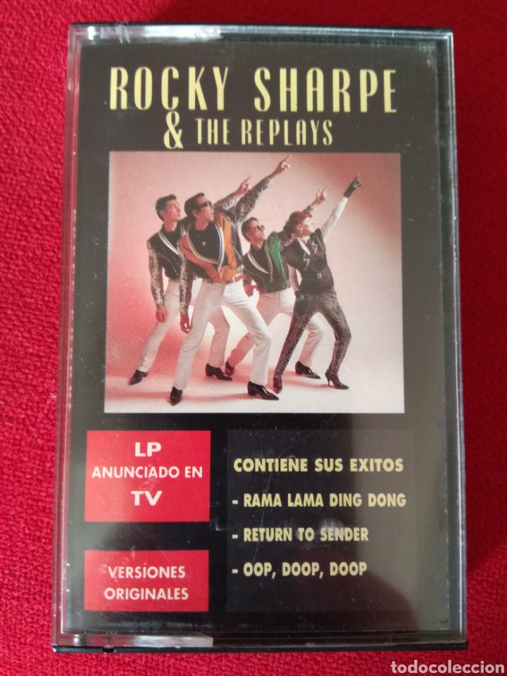 Casetes antiguos: Rocky Sharpe & The Replays - Foto 1 - 171532054