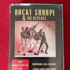 Casetes antiguos: ROCKY SHARPE & THE REPLAYS. Lote 171532054