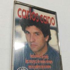 Casetes antiguos: CASETE CARLOS CANO HABANERA DE CADIZ ETC 14 ÉXITOS NUEVO PRECINTADO Y DESCATALOGADO. Lote 171582805