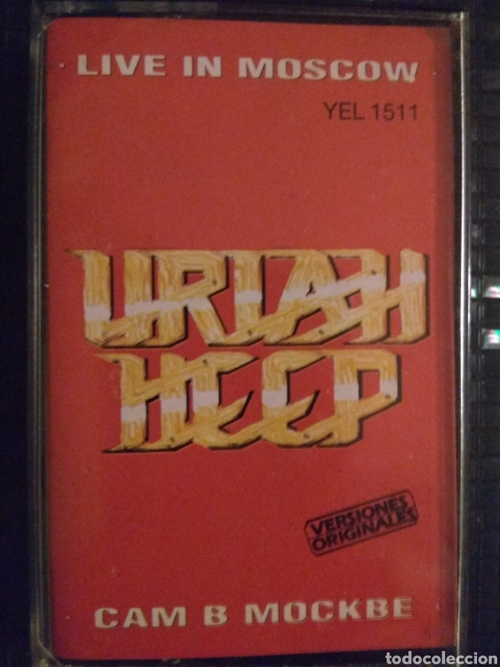 Uriah Heep Live In Moscow Buy Old Cassettes At Todocoleccion 171639347