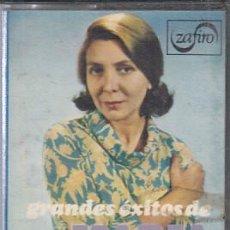Casetes antiguos: MARIA DOLORES PRADERA. GRANDES EXITOS. CASSETTE ZAFIRO DE 1973. Lote 171698149