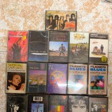 Casetes antiguos: LOTE DE 16 CASETES, PINK FLOYD, WATERBOYS, U2, THE BEACH BOYS, MARILLION,CLAPTON, MC CARTNEY,BARS.... Lote 172203068