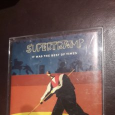 Casetes antiguos: CASSETTE DOBLE SUPERTRAMP IT WAS THE BEST OF TIME. Lote 172895898