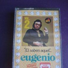 Casetes antiguos: EUGENIO - EL SABEN AQUEL ... VOL 2 - CASETE PRECINTADA - CHISTES HUMOR CACHONDEO. Lote 173026083