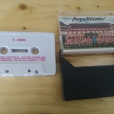 Cassettes Anciennes: CASETE ANTIGUO FÚTBOL 1983 AUPA ATHLETIC. HIMNO ATHLETIC CLUB BILBAO - ALDEA - CAJA AHORROS VIZCAINA. Lote 173199995