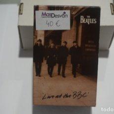 Casetes antiguos: DOBLE CASETE TOTALMENTE NUEVO - THE BEATLES LIVE AT THE BBC / CON LIBRETO. Lote 173390263