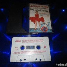 Casetes antiguos: LA MUJER DE ROJO / LOS CAZAFANTASMAS - CASSETTE - 30.003 - THE NEVERENDING STORY - SUSANA .... Lote 173450052