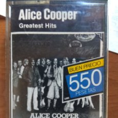 Casetes antiguos: ALICE COOPER - GREATEST HITS. Lote 173625918