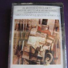 Casetes antiguos: MIKE HANKINS - EL SINTETIZADOR CLASICO CASETE ABC PRECINTADA - BACH - SCARLETTI - MOZART - . Lote 173855032