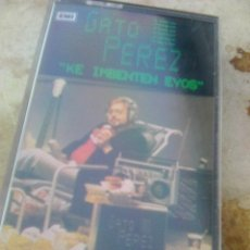 Casetes antiguos: GATO PÉREZ - KE IMBENTEN EYOS (EMI, 1984) - EPOCA TECNO POP SYNTH SALSA - ONDA LAYETANA - MUY NUEVA. Lote 174050143