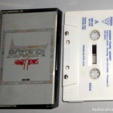 Cassette antiche: CASETE ANTIGUO ACCEPT - HUNGRY YEARS - VICTORIA AÑO 1986 - HEAVY METAL - VINTAGE. Lote 174101817