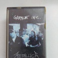 Cassettes Anciennes: CASETE METAL/METALLICA/GARAGE INC/DOBLE CASETE.. Lote 174159585