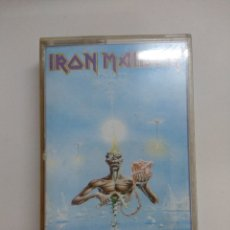 Cassettes Anciennes: CASETE METAL/IRON MAIDEN/SEVENTH SON OF A SEVENTH SON.. Lote 174163002