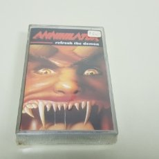 Casetes antiguos: JJ8- ANNIHILATOR REFRESH THE DEMON CASSETTE NUEVO PRECINTADO. Lote 174309863