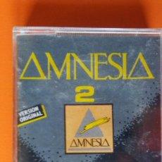 Casetes antiguos: AMNESIA 2 OPEN RECORDS OMC-1.189 1989 ELECTRONIC/NEW BEAT PRECINTADA!!. Lote 174382220