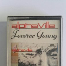 Casetes antiguos: ALPHA VILLE FOREVER YOUNG. Lote 174430297