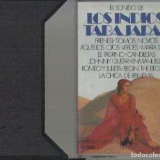 Casetes antiguos: LOS INDIOS TABAJARAS - EL SONIDO DE LOS INDIOS TABAJARAS CASSETTE. Lote 174456469