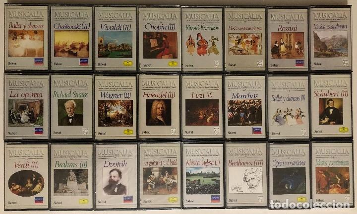 Casetes antiguos: Lote de Cassettes Música Clásica Colección Musicalia / Salvat - Foto 3 - 174463119