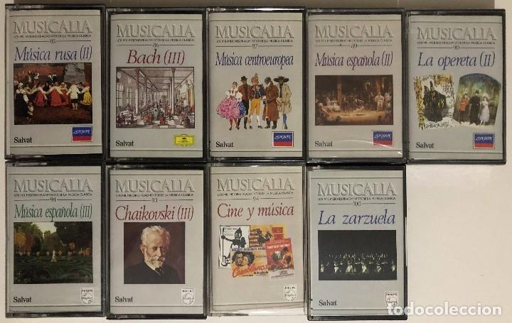 Casetes antiguos: Lote de Cassettes Música Clásica Colección Musicalia / Salvat - Foto 4 - 174463119