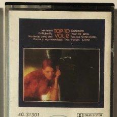 Casetes antiguos: VARIOS - TOP 10, VOL. 12 CASSETTE. Lote 174468262