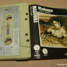 Casetes antiguos: MADONNA - LIKE A VIRGIN - WEA SPAIN -1984 (CAJ-4). Lote 174507260
