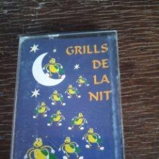 Casetes antiguos: GRILLS DE LA NIT. Lote 174523405
