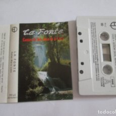 Casetes antiguos: CINTA CASETE - LA FONTE - CANTOS DE SAN JUAN DE LA CRUZ - EDICIONES PAULINAS 1991 - 10 TEMAS. Lote 174524035