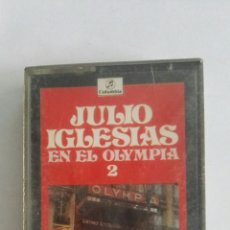 Casetes antiguos: JULIO IGLESIAS EN EL OLYMPIA 2. Lote 175025228