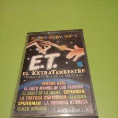 Casetes antiguos: E.T.EL EXTRATERRESTRES. Lote 175236263