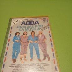 Casetes antiguos: ABBA. Lote 175236773