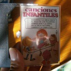 Casetes antiguos: CANCIONES INFANTILES¡. Lote 175612412