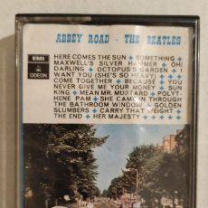 Casetes antiguos: CASSETTE THE BEATLES - ABBEY ROAD (1970) EDICIÓN ESPAÑOLA. Lote 175707735