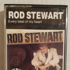 Casetes antiguos: CASSETTE ROD STEWART - EVERY BEAT OF MY HEART (1986). Lote 175708289