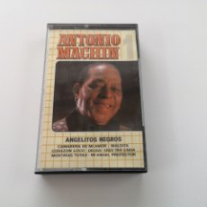 Casetes antiguos: ANTONIO MACHÍN, ANGELITOS NEGROS. Lote 175903098