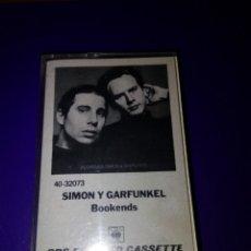 Casetes antiguos: SIMON Y GARFUNKEL. BOOKENDS. C15F. Lote 175971754