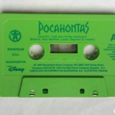 Casetes antiguos: POCAHONTAS CUENTOS DISNEY. Lote 176073408