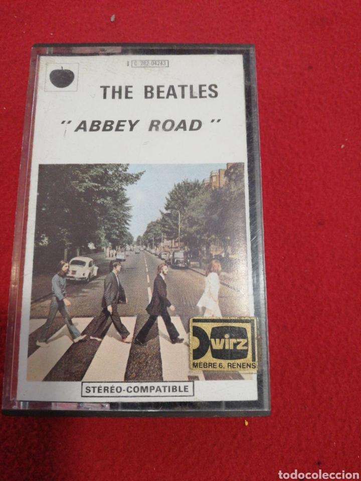 CINTA DE CASSETTE THE BEATLES ABBEY ROAD (Música - Casetes)