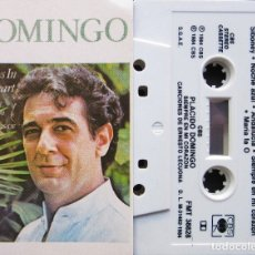 Casetes antiguos: PLACIDO DOMINGO - ALWAYS IN MY HEART. Lote 176522299