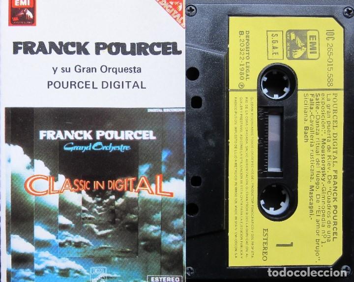 FRANCK POURCEL - POURCEL DIGITAL (Música - Casetes)