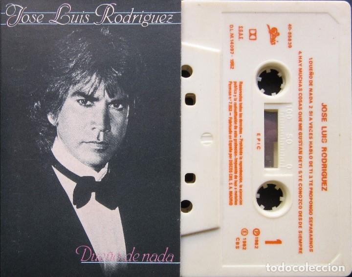 JOSE LUIS RODRÍGUEZ - DUEÑO DE NADA (Música - Casetes)