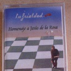 Casetes antiguos: VARIOS - HOMENAJE A JESUS DE LA ROSA - TU FRIALDAD (MC) PRECINTADA. Lote 176598179