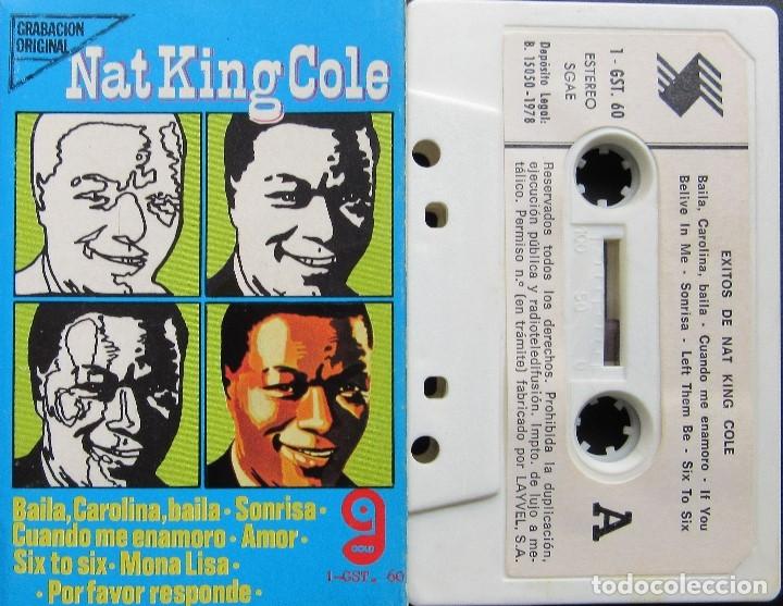 NAT KING COLE - ÉXITOS DE NAT KING COLE (Música - Casetes)