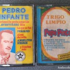 Casetes antiguos: LOTE CASETES PEDRO INFANTE PEPE PINTO. Lote 176862145