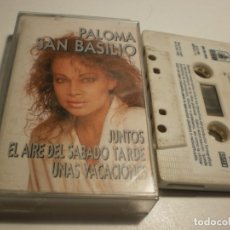 Casetes antiguos: CASETE, CINTA, CASSETTE PALOMA SAN BASILIO. JUNTOS. HISPAVOX 1989 SPAIN (ESTADO NORMAL). Lote 177606978
