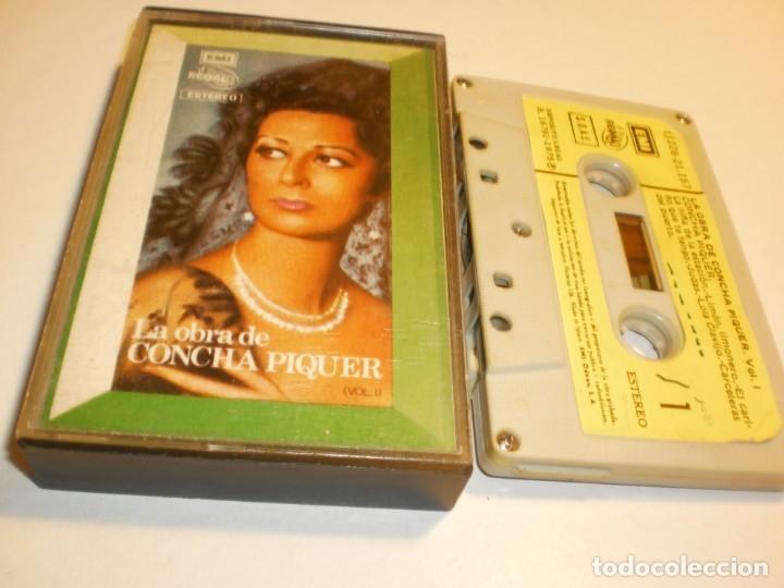CASETE LA OBRA DE CONCHA PIQUER. EMI 1975 SPAIN (ESTADO NORMAL) (Música - Casetes)