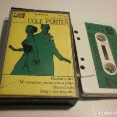 Casetes antiguos: CASETE LO MEJOR DE COL PORTER. COBRA 1977 SPAIN (ESTADO NORMAL). Lote 177664570