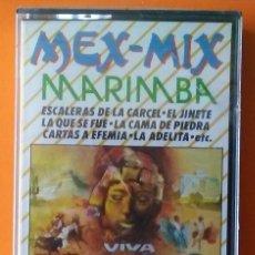 Casetes antiguos: MEX MIX MARIMBA VIVA MEJICO PERFIL PRECINTADA!. Lote 178114463